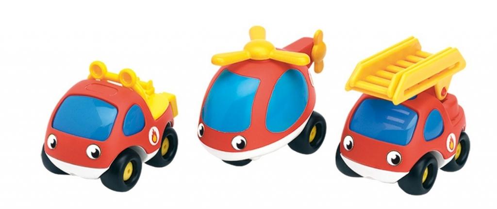 VP autíčka záchranáři-tři autíčka v dárkovém balení