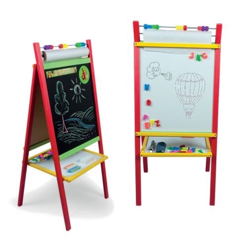 Barevná dětská magnetická tabule