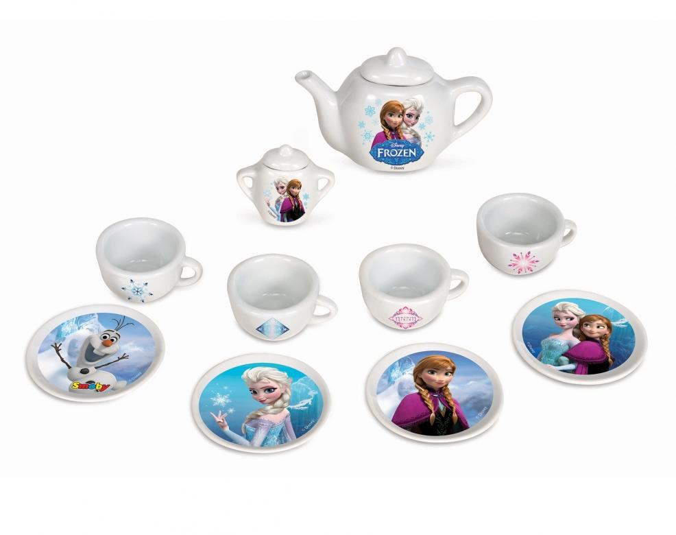 Frozen porcelánová čajová souprava