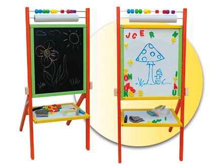 Otočná dětská tabule - barevná