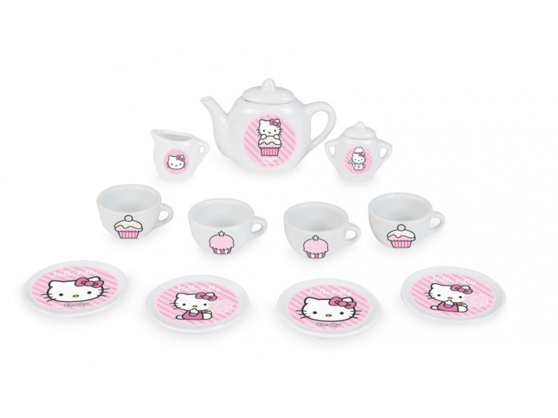 Hello Kitty porcelánový set 13 ks