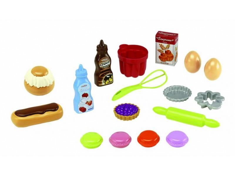 Bubble Cook kuchyňské potřeby a koláčky v síťce s 18 doplňky
