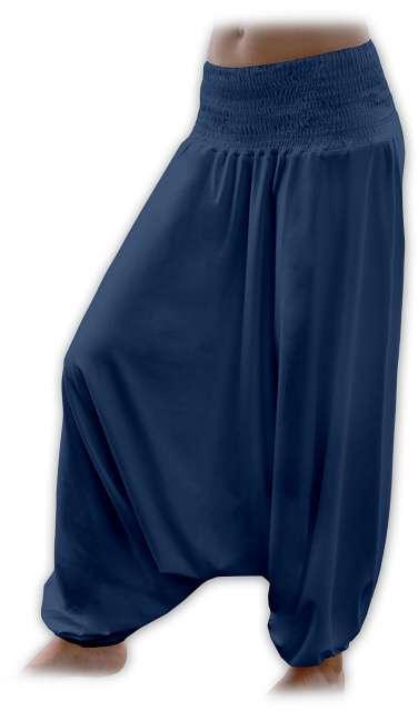 Turecké harémové kalhoty sultánky - jeans