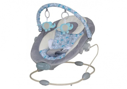 Lehátko pro kojence s vibrací a hudbou
