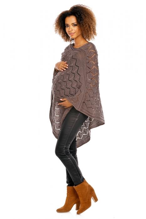Kompletní specifikace. Elegantní teploučké těhotenské pončo ... 4c5596c62d